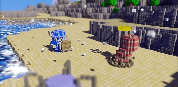 3d dot game heroes hookshot upgrade 3d dot game heroes / game needs to upgrade to 3-d the big bosses of gaming yesteryear are present and a blast 3d dot's gameplay succeeds hugely because it.
